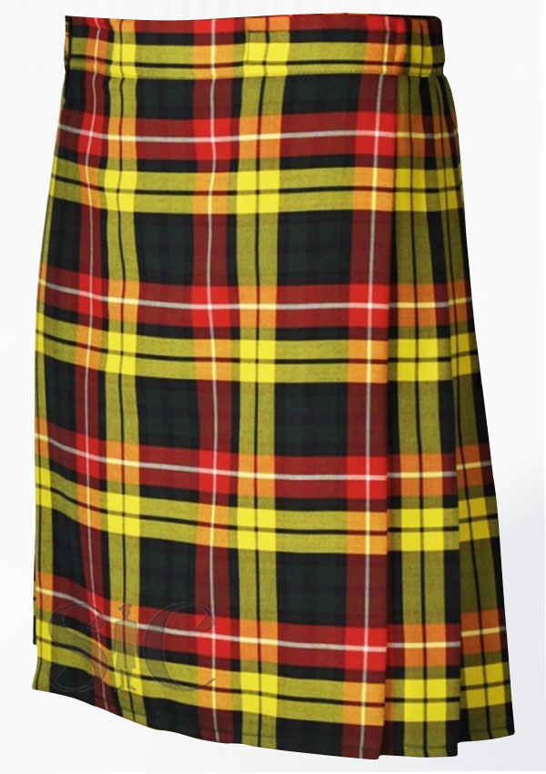 Buchanan Tartan Kilt Scotland Clothing Design 109