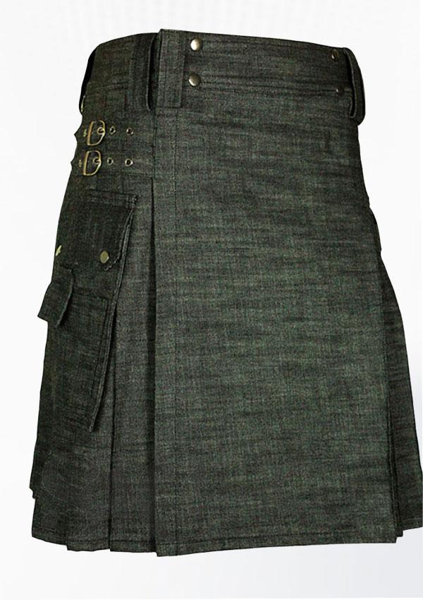 Denim Deluxe Kilt Design 31