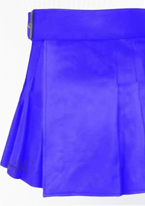 Best Quality Swanky Leather kilt Design 10