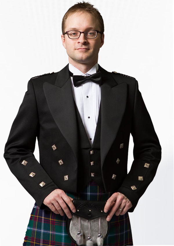 PrinceCharlie Jacket With Three Buttons Navy Blue Design 15