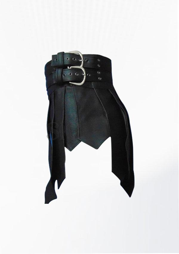 Roman Gladiator Ancient Leather kilt Design 25