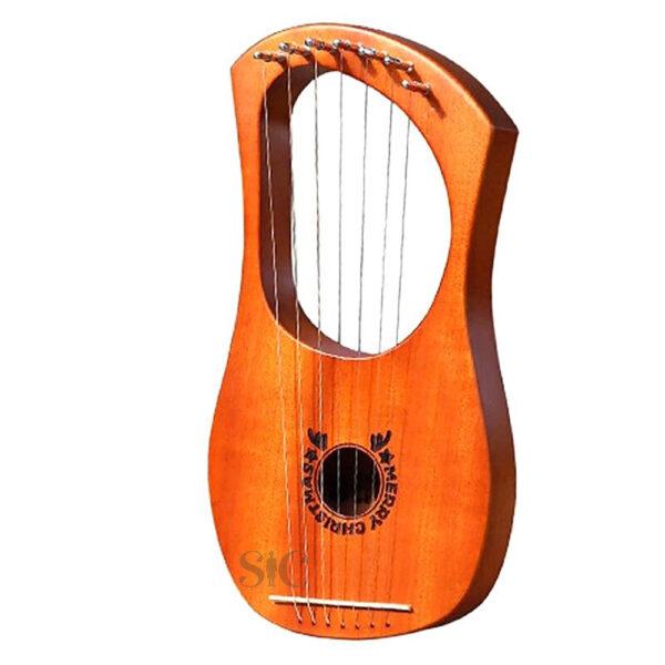 Lyre Harp 7 Metal String Harp Design 85