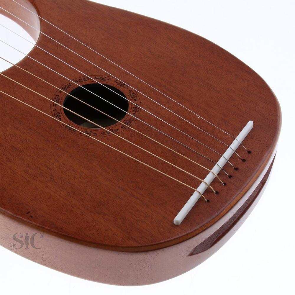 7 Strings Lyre Harp Design 87