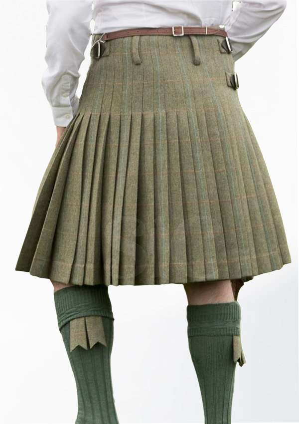 Modern Design Tweed Kilt Design 2
